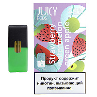 Картридж для Juul Juicy Pods (Strawberry Watermelon Green apple)